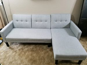 L shaped couch for Sale in Wood Village, OR