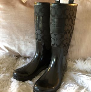 Coach Rain Boots for Sale in Yardley, PA