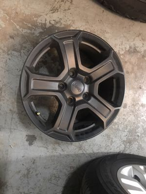 2007-2020 Jeep wheels 18 inch for Sale in Houston, TX