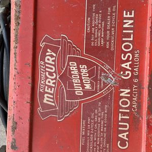 Vintage Outboard Motor 6 Gallon Gas Can for Sale in Schaumburg, IL