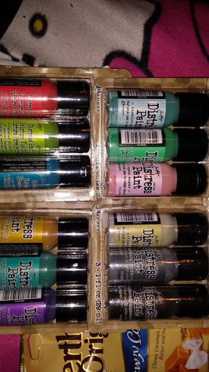 Tim Holtz distress acrylic paint lot for Sale in Tacoma, WA