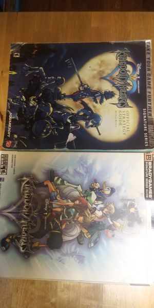 Kingdom Hearts 1&2 Paperback Walkthrough for Sale in Cleveland, OH