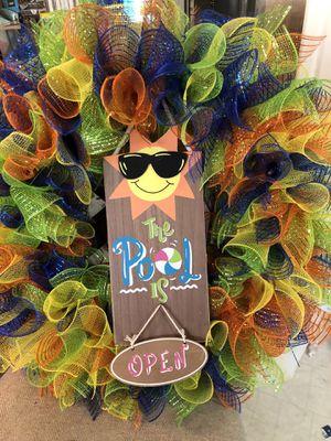 Summer wreath for Sale in Benton, AR