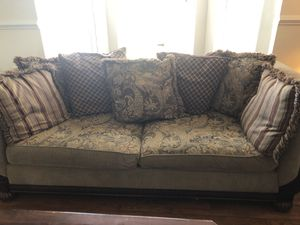 Couch with reversible cushions for Sale in Woodbridge, VA
