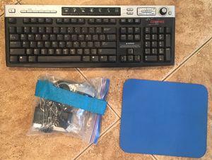 Computer keyboard mouse desktop bundle electronics for Sale in Rancho Cucamonga, CA