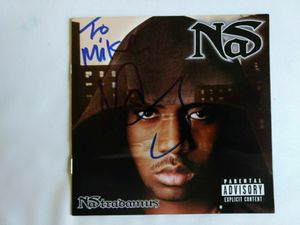 Nas signed Autographed CD cover for Sale in Bellevue, WA