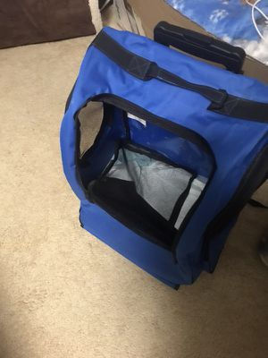 Small dog carrier with wheels for Sale in Germantown, MD