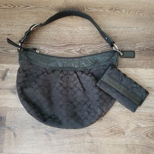 Authentic Coach Hobo Bag And Wallet for Sale in La Mirada, CA