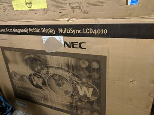NEC Multisync LCD 4010 monitor /public display for Sale in Starrucca, PA