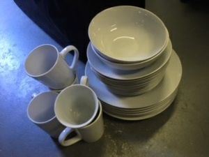 Plates and cup set for Sale in San Marcos, CA