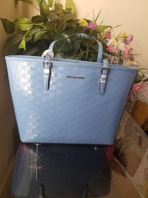 French blue Michael Kors tote bag for Sale in Hyattsville, MD
