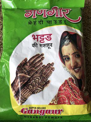 Henna / mehandi powder for Sale in Torrance, CA