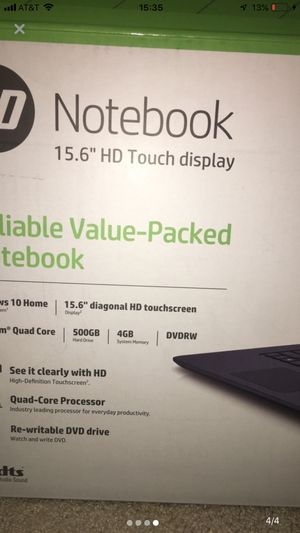 HP Touch Screen Laptop for Sale in Flatwoods, WV