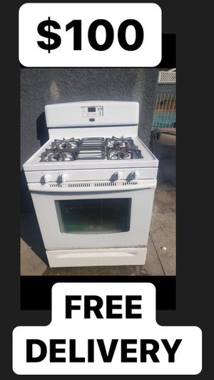 May tag Glass Front 4 Burner Stove for Sale in Huntington Beach, CA