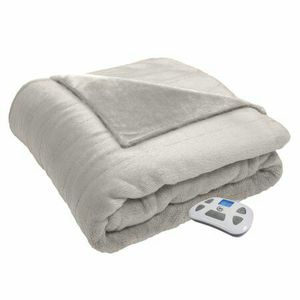 Serta Serta Silky Plush Electric Heated Blanket with programmable digital controller ,Ivory,Twin for Sale in Mesa, AZ
