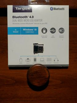 Targsus Bluetooth 4.0 Dual Mode Micro USB Adapter for Sale in Fresno,  CA