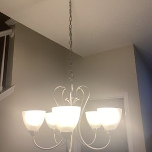 Silver Chandelier for Sale in Kissimmee, FL