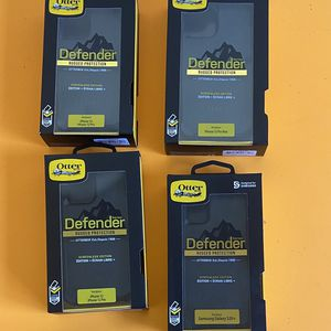 Otterbox Defender Case for IPhone 5 /6 /7 /8/10 / 11/12 / + pro/ Max Samsung Galaxy S7/8/9/10/20/ + Note 5/8/9/10/20 ($25 -$30) for Sale in South El Monte, CA