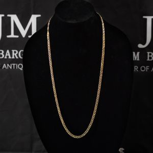 Gold Cuban Link Necklace Chain for Sale in Tampa, FL