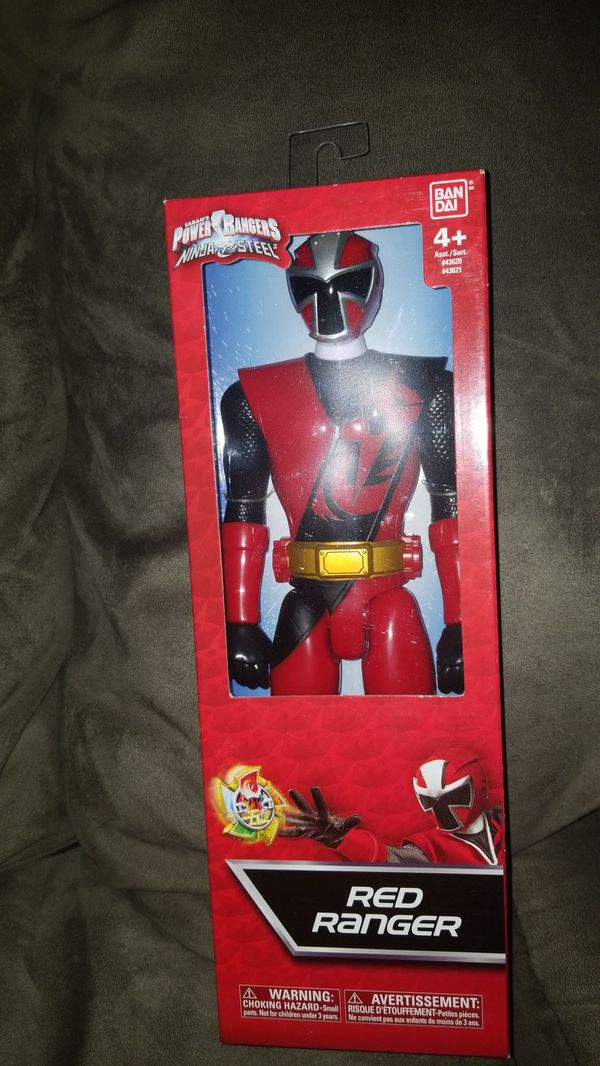 Brand new saban's power rangers ninja steel red ranger for Sale in Phoenix,  AZ - OfferUp
