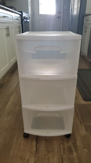 Plastic 3 drawer bin for Sale in La Mesa, CA