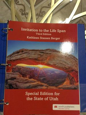 Invitation to the life span 3rd edition for Sale in Oakland, CA