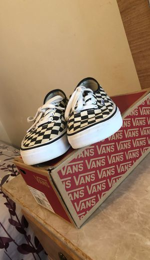 Vans checkerboard for Sale in Sandwich, IL