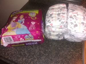 Huggies size 6 count 25& pul up count 20 for Sale in Monroeville, PA