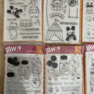 Stamp Sets With Matching Metal Dies for Sale in Willow Spring, NC
