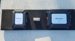 2 Pioneer amplifiers and a Pioneer subwoofer for Sale in Miramar, FL
