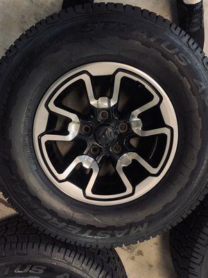 Dodge Ram 1500 Rebel Wheels Rims Tires Rines 2018 Factory OEM for Sale in Los Angeles, CA