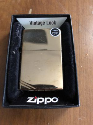 Vintage look brass zippo for Sale in Chicago, IL