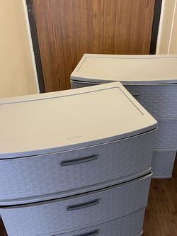 Two Plastic Drawers for Sale in Portland,  OR
