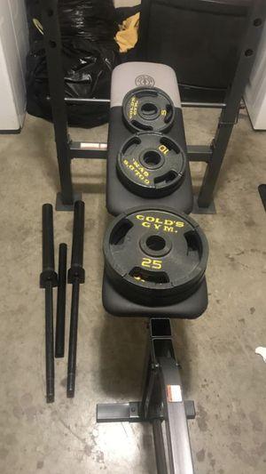 Gold's gym set for Sale in Nashville, TN