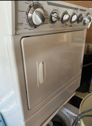 Only $111 for Whirlpool stacking washer & dryer for Sale in Arvada, CO