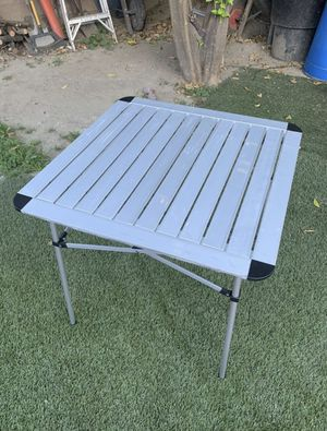 Collapsible camping table for Sale in Lakewood, CA