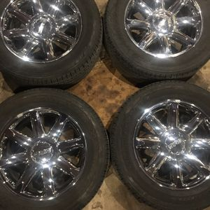"""20"""" Wheels Rims 6x5.5 Chevy GMC for Sale in Tinley Park, IL"""