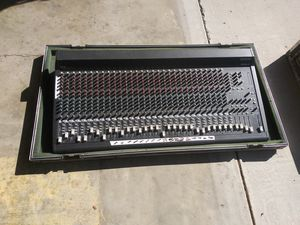 30 channel mixing board and case for Sale in Modesto, CA