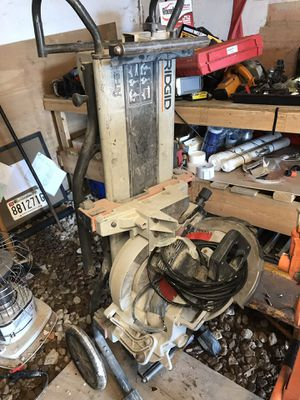 Miter saw with table for Sale in Baltimore, MD