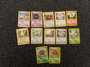 12 First Edition Pokemon cards for Sale in Gresham, OR
