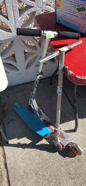 Razor scooters both for $10 for Sale in West Palm Beach, FL