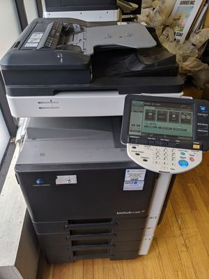 Konica Minolta c360 and c220 laser printers with toner for Sale in Chicago, IL
