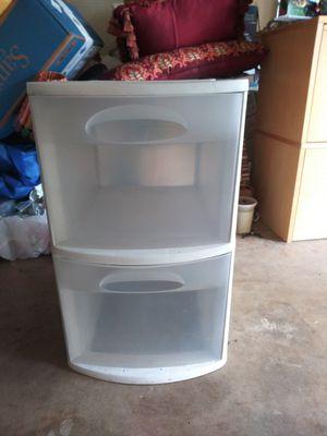 Plastic 2 drawer organizer for Sale in Austin, TX