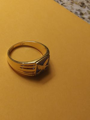 750 gold Eagle ring size 12 for Sale in Sioux Falls, SD