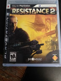 Resistance 2 Playstation 3 Game for Sale in Morrisville,  PA