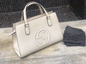Authentic Gucci Shoho Off White Business/Tote for Sale in Waimanalo, HI