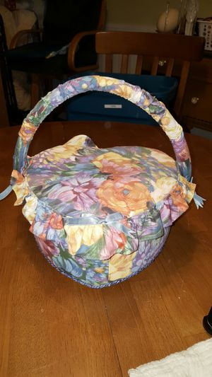 Heart Shaped Sewing Basket for Sale in Payson, AZ