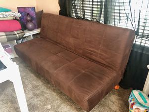 Brown Futon for Sale in Fresno, CA