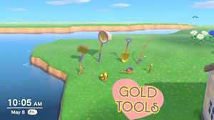 Full set of Gold Tools for Animal Crossing: New Horizons! for Sale in Carrboro, NC
