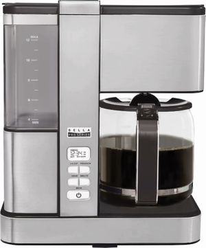 Bella - Pro Series Flavor Infusion 12-Cup Coffee Maker - Stainless Steel for Sale in Silver Spring, MD